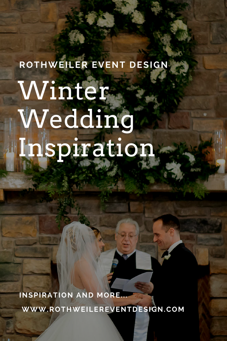 Winter Wedding Inspiration and tips for brides and grooms getting married in the coldest time of the year!