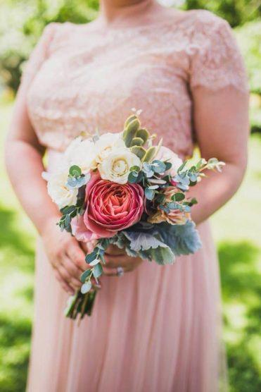 Spring bridesmaid