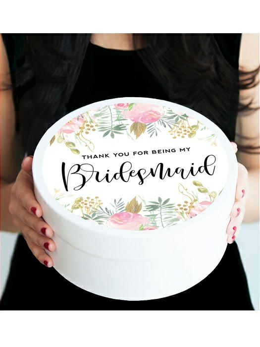 Thank you gift for bridesmaids from bride
