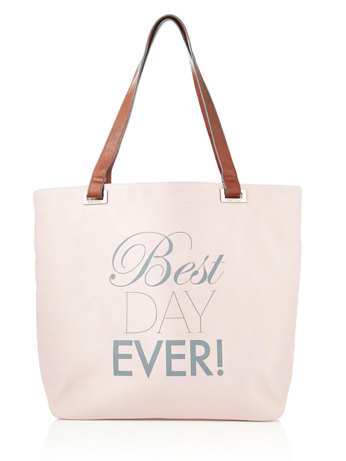 best day ever wedding day tote