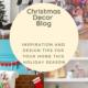 Blog cover for Christmas Decor