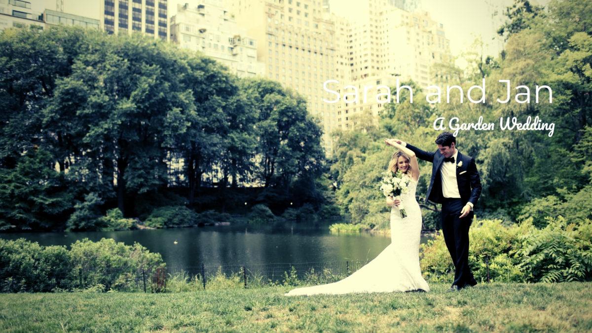 groom twirling bride outside in central park