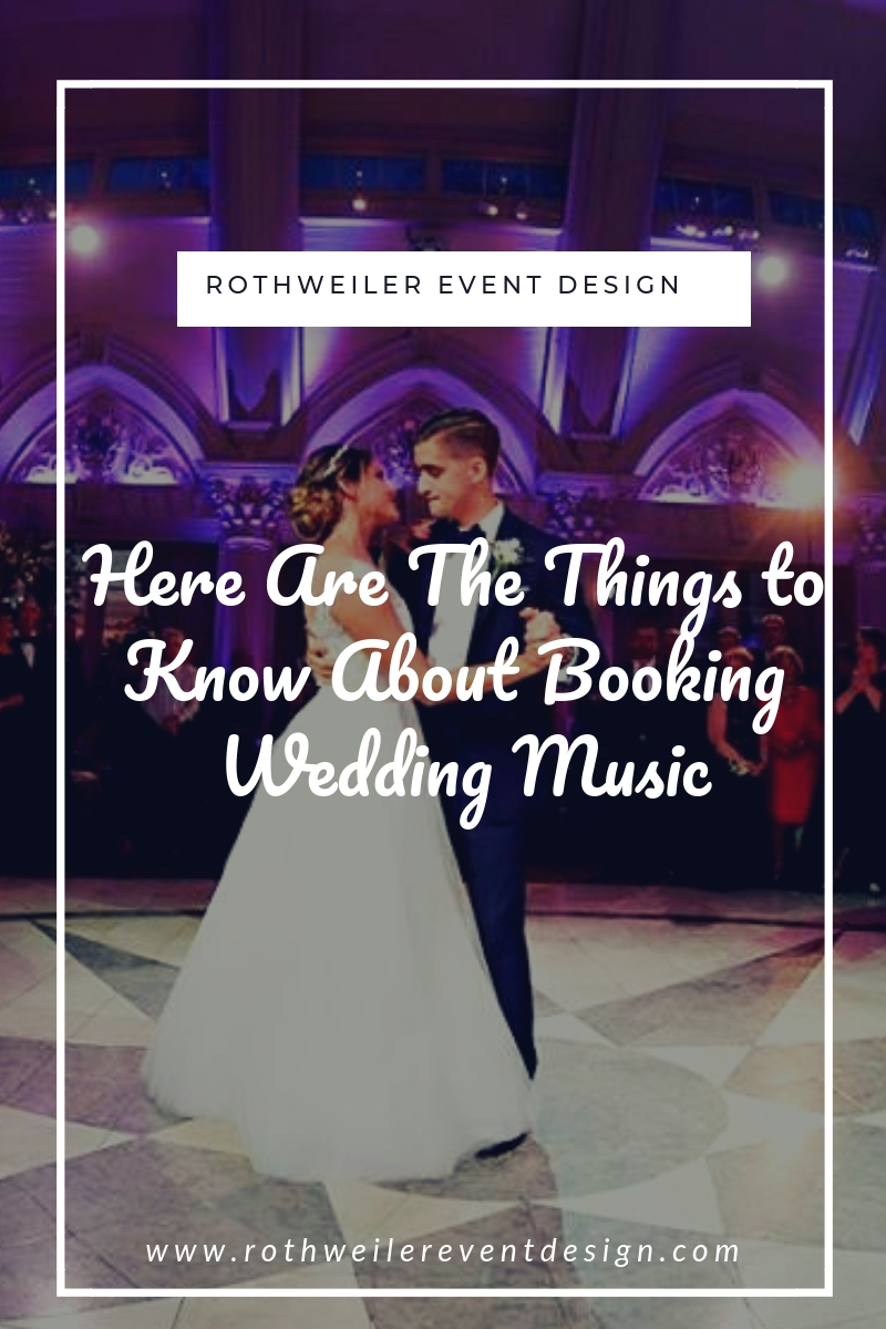 blog cover for blog about how to book wedding music