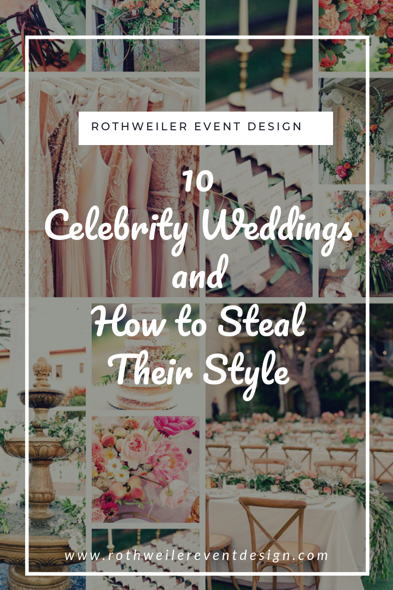blog cover for blog about celebrity wedding styles