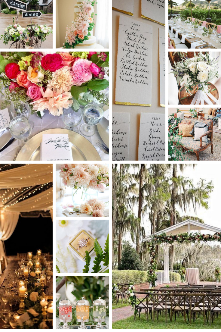 inspo board for a wedding