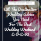 blog cover for blog about destination weddings