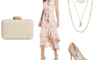 floral dress mood board