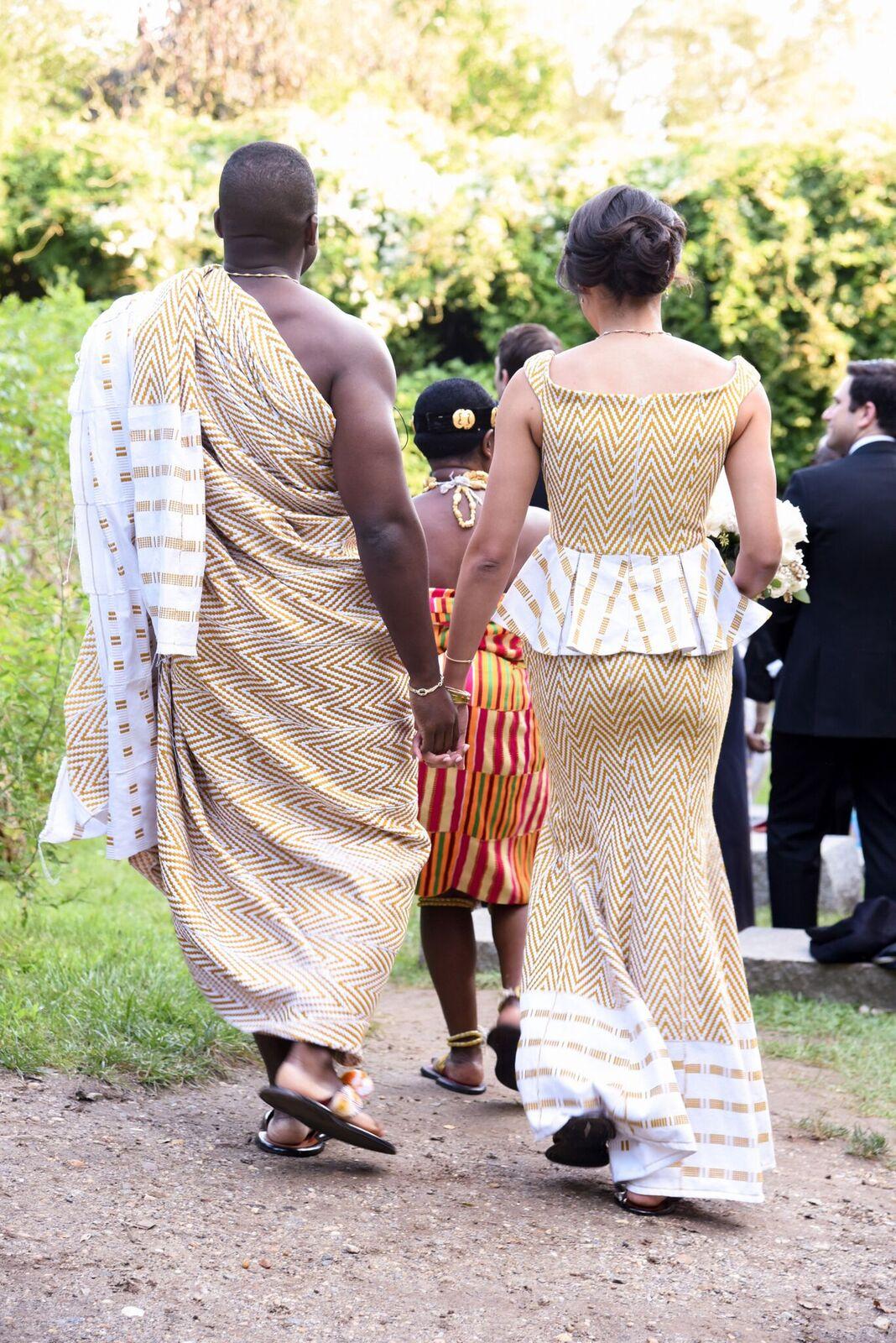 ghanaian wedding dress