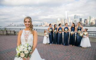 fall wedding bridesmaid dresses purple