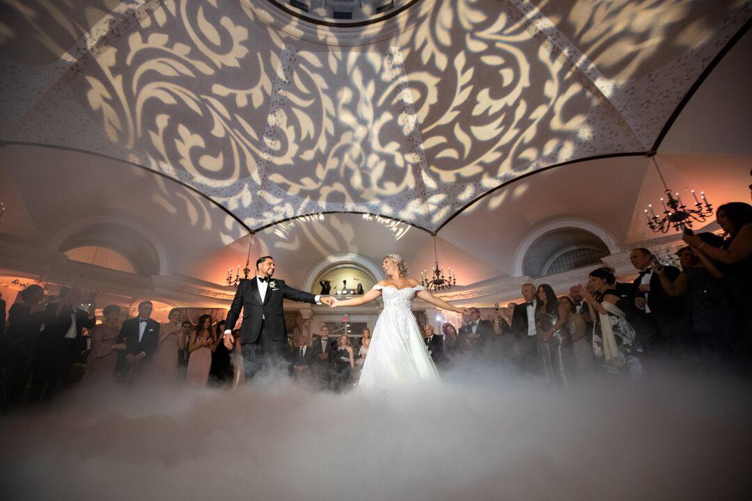 wedding first dance ballroom
