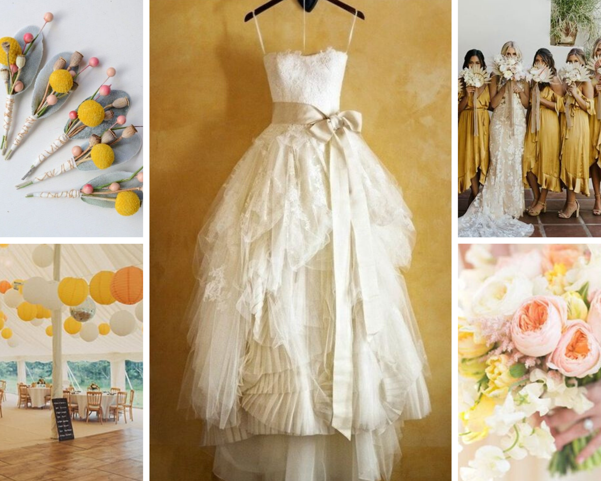 mellow yellow inspo board
