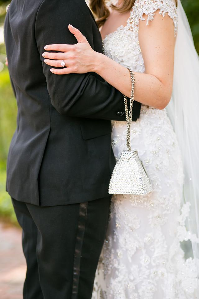 bride and groom close shot