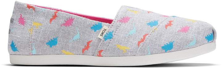 toms with dino prints