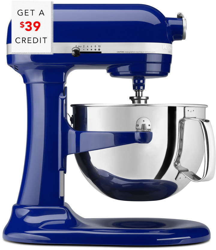stand mixer in blue