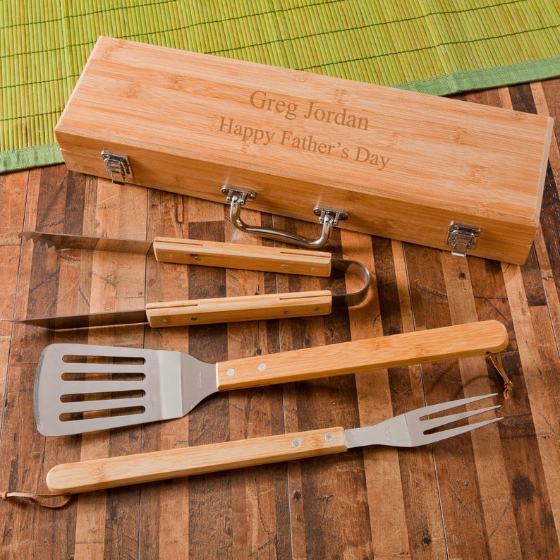 customized grill utensils