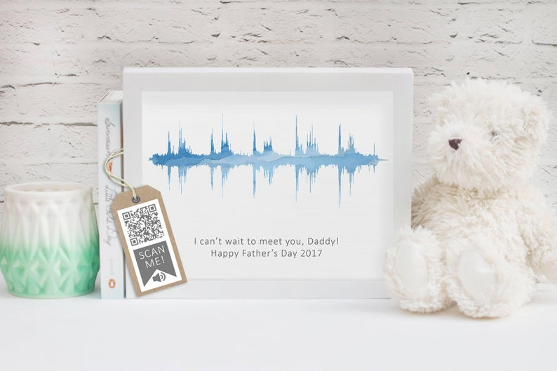 baby sonogram heartbeat gift