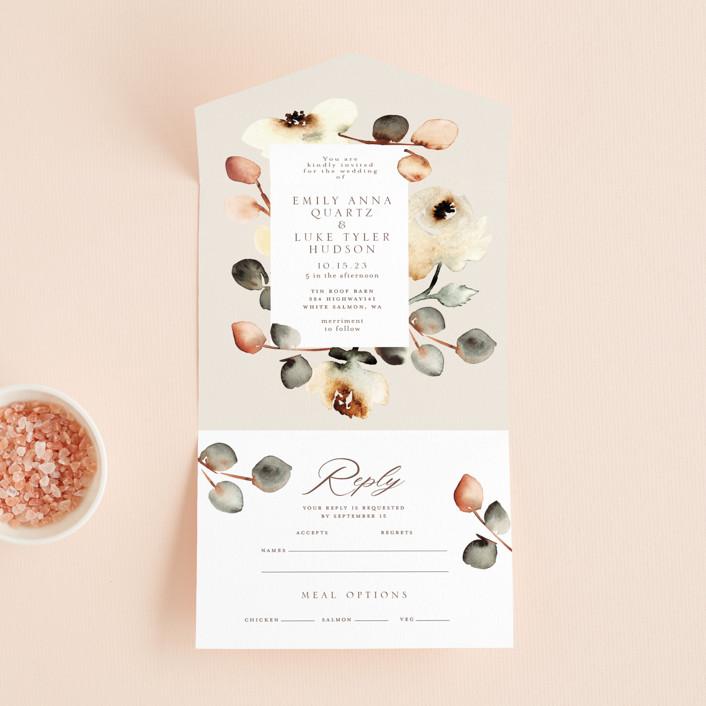floral invites