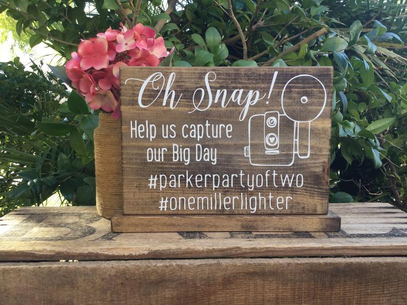 hashtag signage