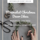Christmas decor trends 2020 blog