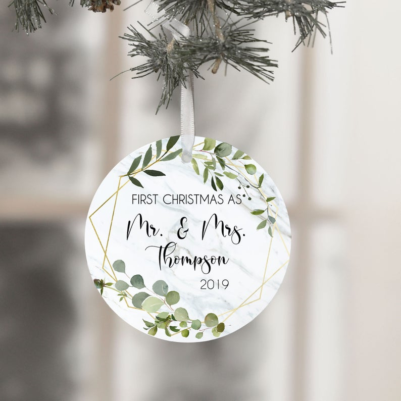 personalized Christmas ornaments Etsy