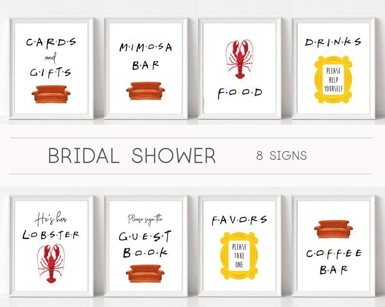 bridal shower decoration kits