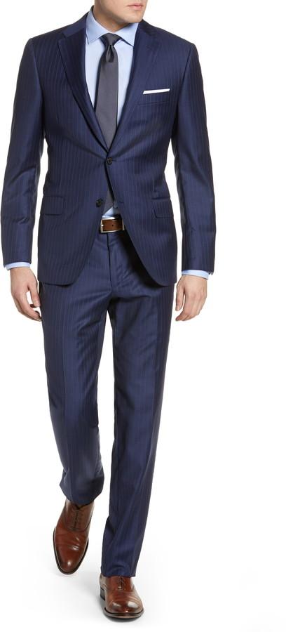 navy blue mens suit