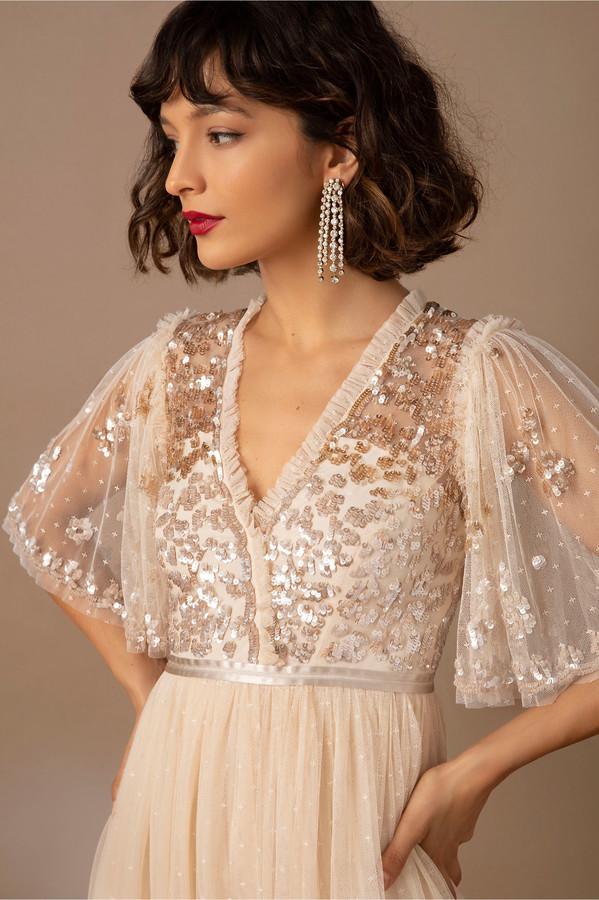 elopement bridal gown