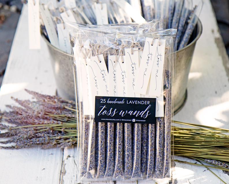 lavender to toss at wedding
