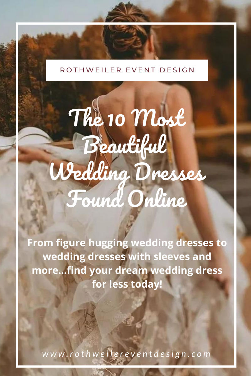 blog for the best online wedding dress store
