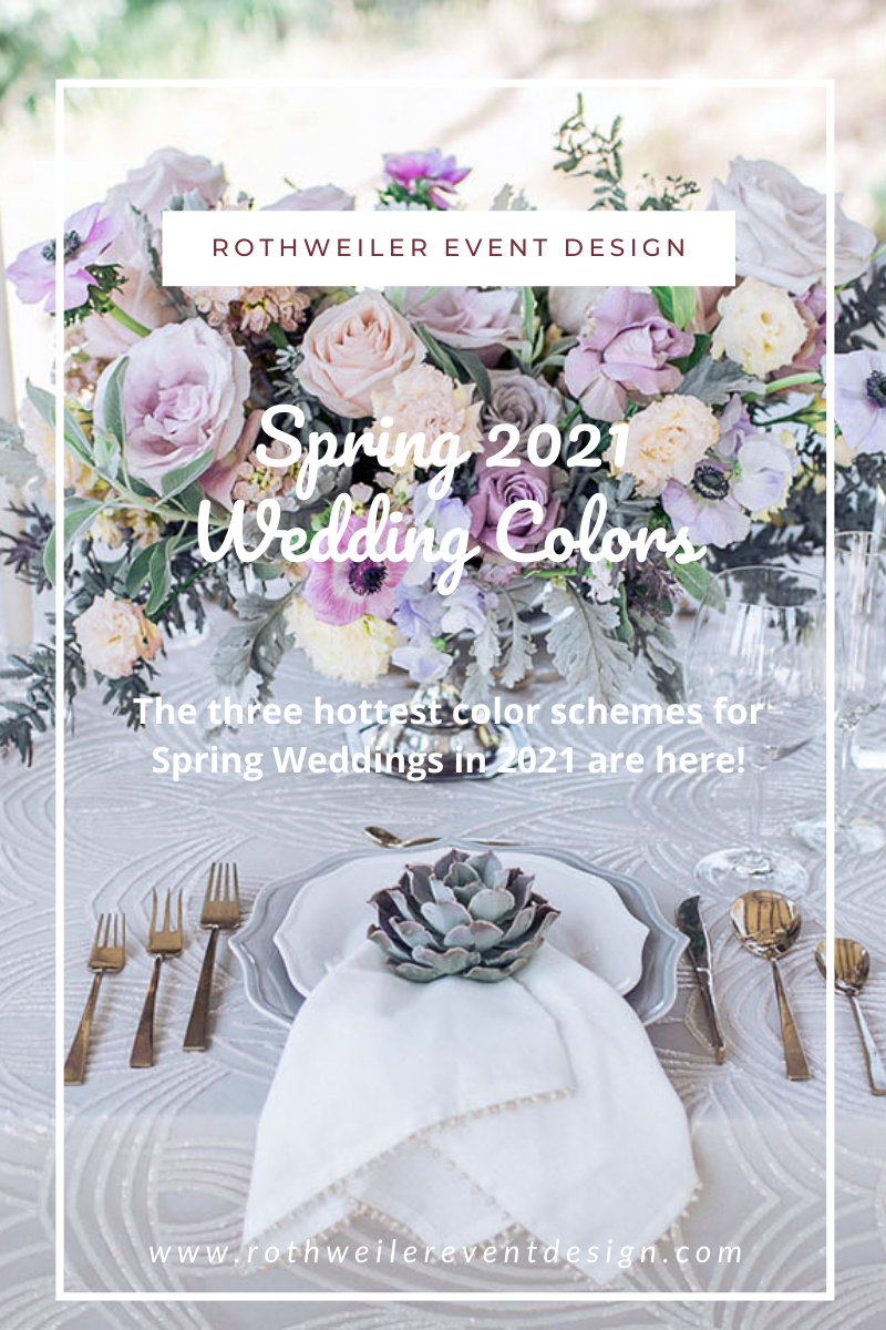 2021 spring wedding colors purple blog