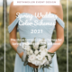 blue spring wedding colors 2021