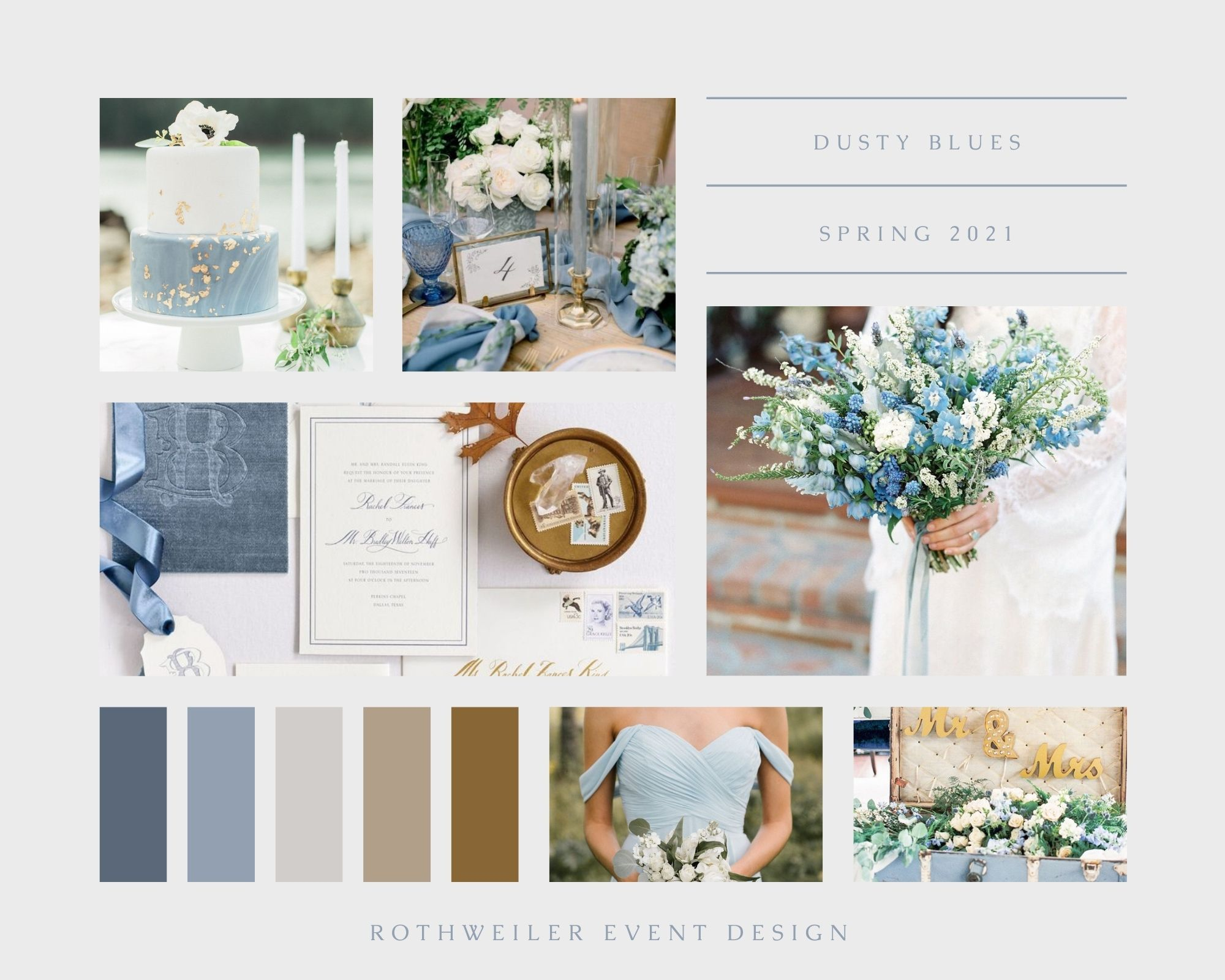 spring wedding colors 2021
