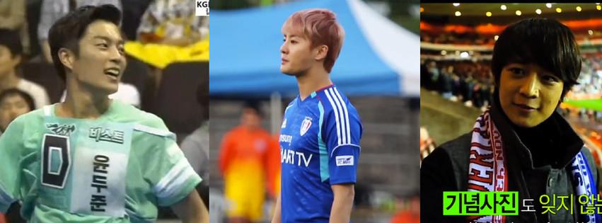 Soccer Idols Doojoon Junsu Minho