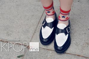 Fan Fashion BTS Shoes Monk Strap