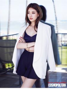 Suzy B&W Outfit