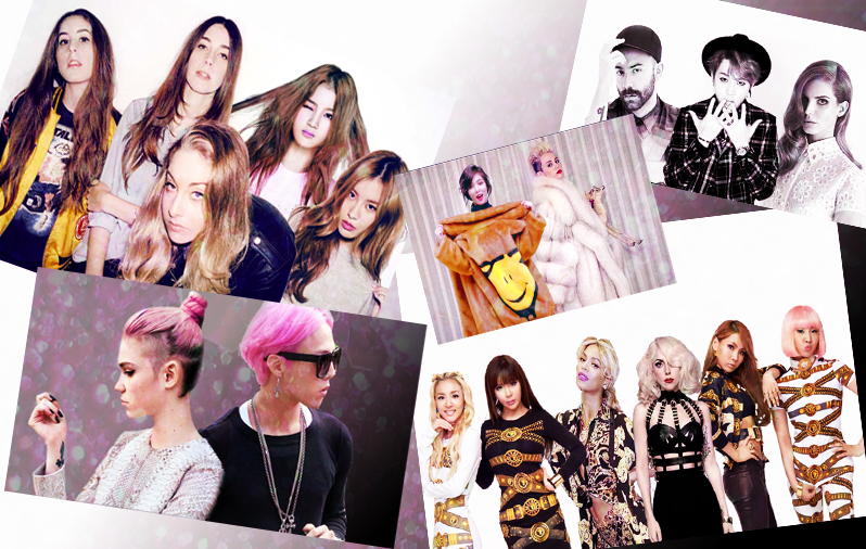 5 Fantasy Collaborations With Non K-POP Artists