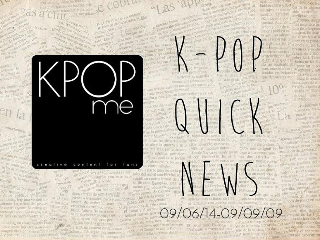 kpop news september 2014