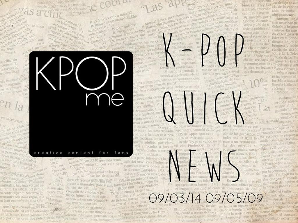 k-pop quick news september