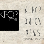 kpop news september