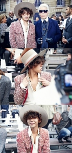 G-Dragon at Chanel via MNET America