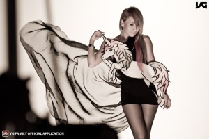 2ne1 CL fashion