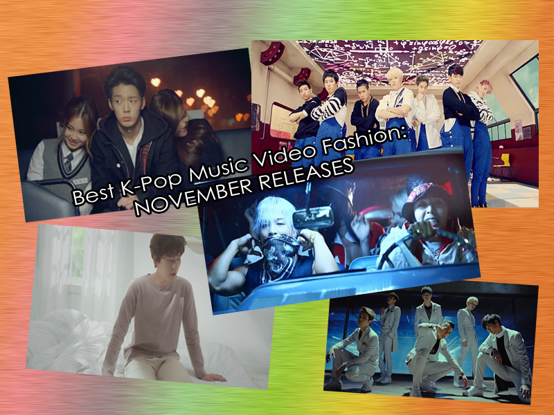 Best KPop Music Video Fashion November