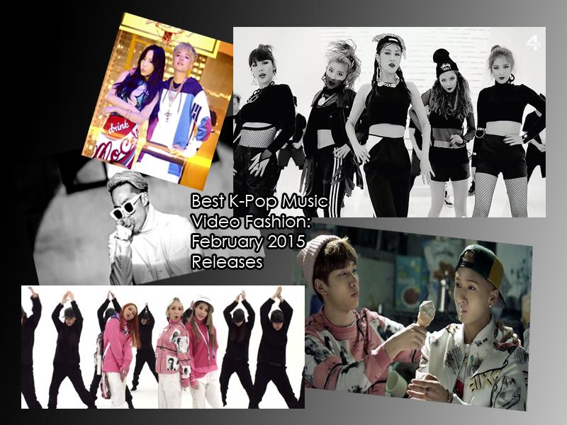 kpop best fashion february 2015