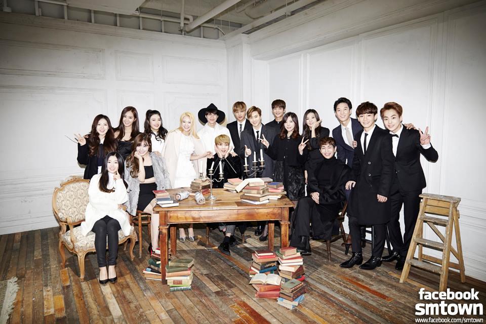 sm entertainment smtown sm artists idols groups