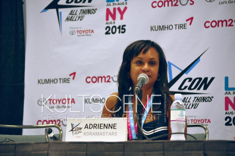 Adrienne Kdramastars KCON 15 LA KultScene