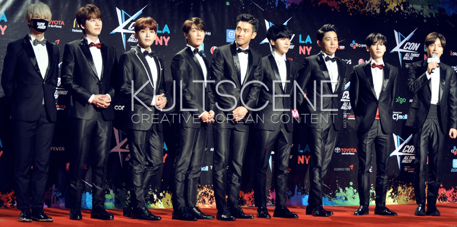 Super Junior KCON 15 LA KultScene Red Carpet