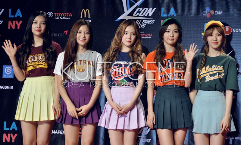 Red Velvet KCON 15 LA KultScene Red Carpet