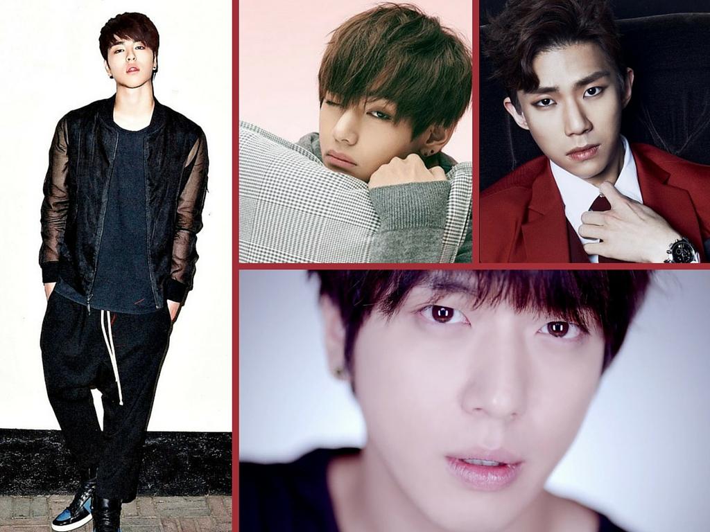 english covers, korean male singers, bangtang boys, bts v, cnblue, yonghwa, jonghyun, ze:a, ze:a kevin, ikon, ikon jinhwan, ikon junhoe, hongsuk, mblaq g.o, mblaq
