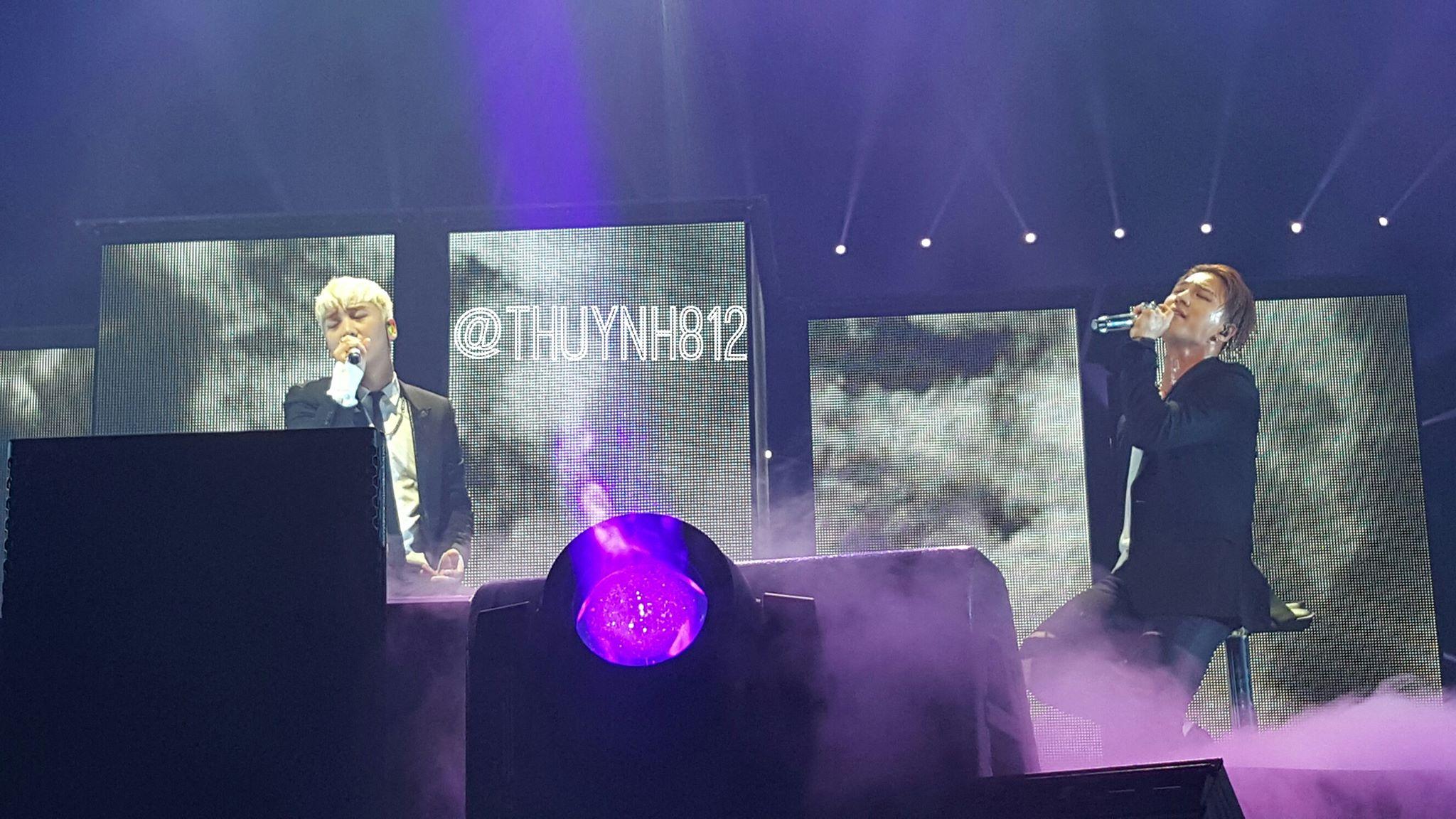 BIGBANG, MADE Tour, Seungri, Taeyang