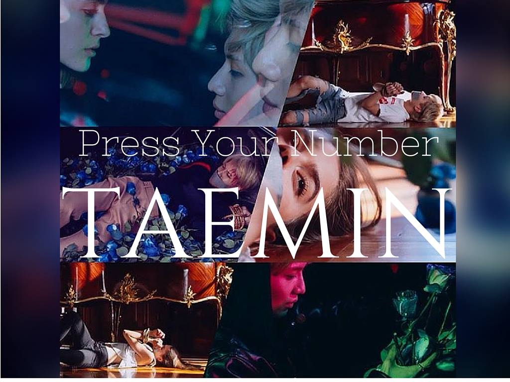 taemin press your number song music video mv review kpop